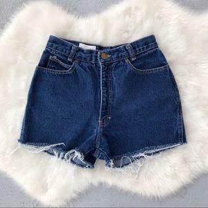 VTG 90s High Waisted Calvin Klein Jean Shorts
